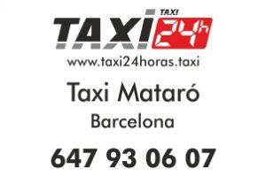 TAXI 24 HORAS MATARO BARCELONA