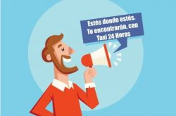 Anunciar mi taxi gratis en Taxi 24 Horas
