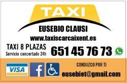 Euro taxi carcaixent