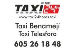 taxi 24 horas benameji
