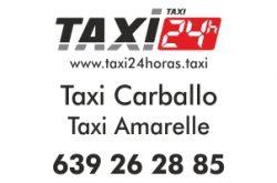 TAXI 24 HORAS CARBALLO TAXI AMARELLE