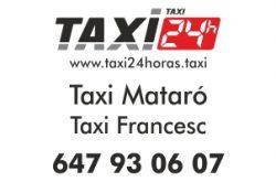 TAXI 24 HORAS MATARO TAXI FRANCESC