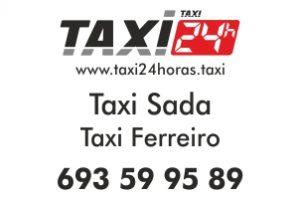 TAXI 24 HORAS SADA TAXI FERREIRO