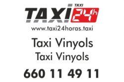 taxi 24 horas vinyols