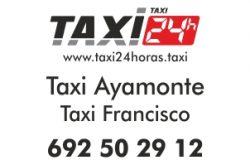 TAXI 24 HORAS AYAMONTE TAXI FRANCISCO
