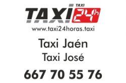 Taxi Jaén 24 Horas